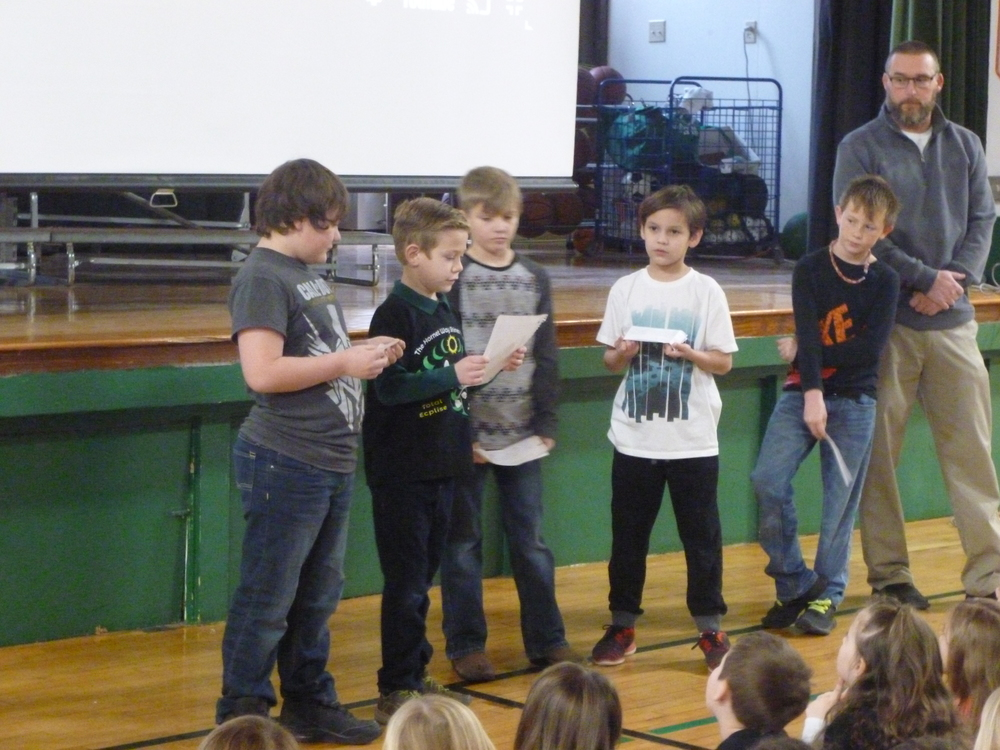 Westran Elementary January Students of the Month