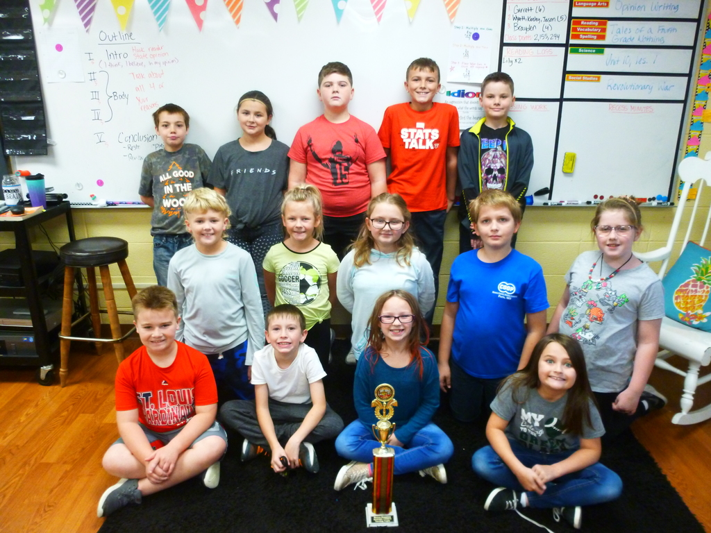 4A Reading Counts October Winners