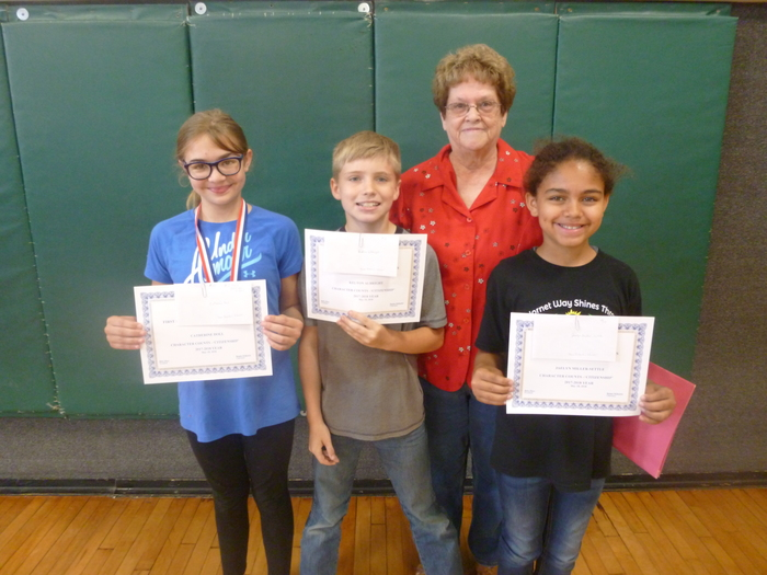 4th Grade Essay Winners