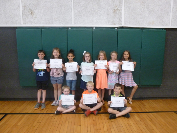 1st Grade Top Readers