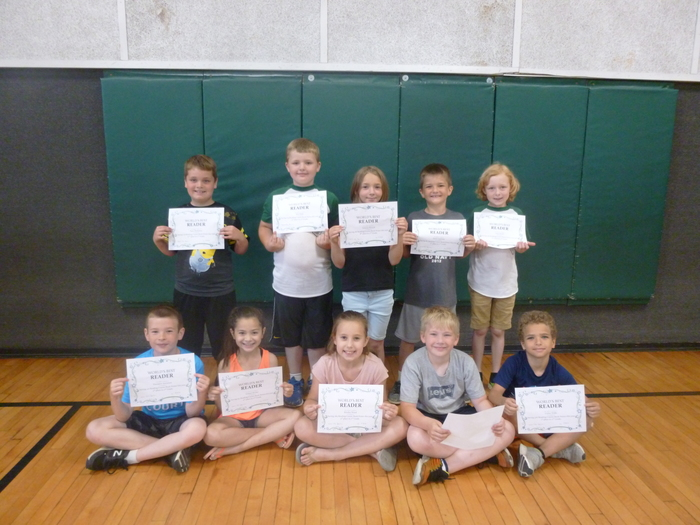 2nd Grade Top Readers