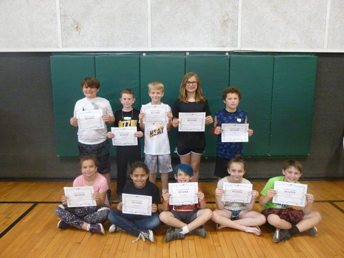 4th Grade Top Readers