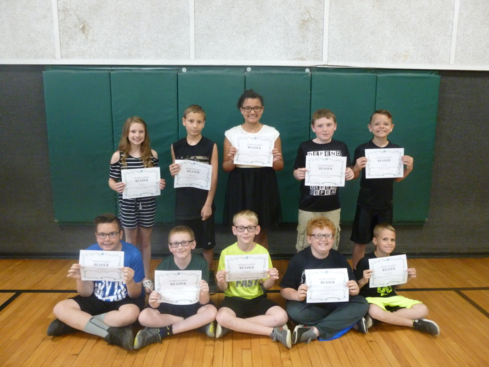 5th Grade Top Readers