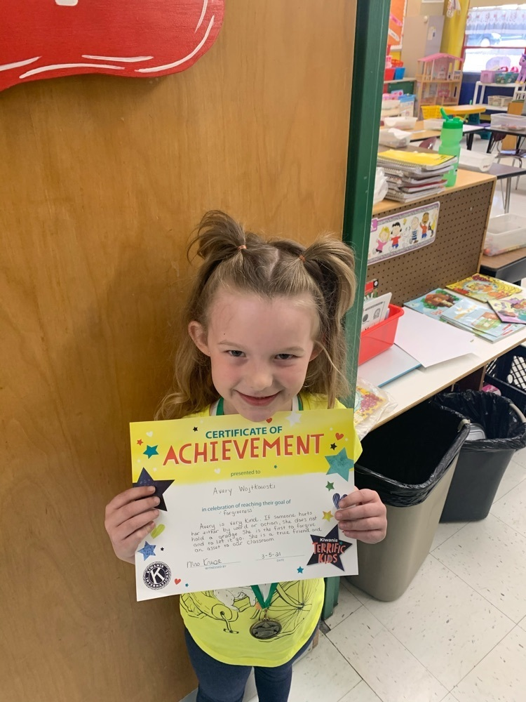 Avery is KB's citizen of the month!