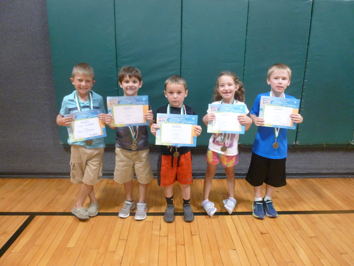 K/1 Students of the Month