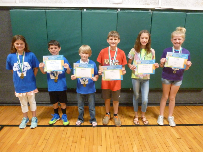 4th/5th Grade Students of the Month