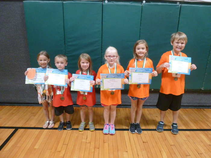 Kindergarten/1st Grade Students of the Month