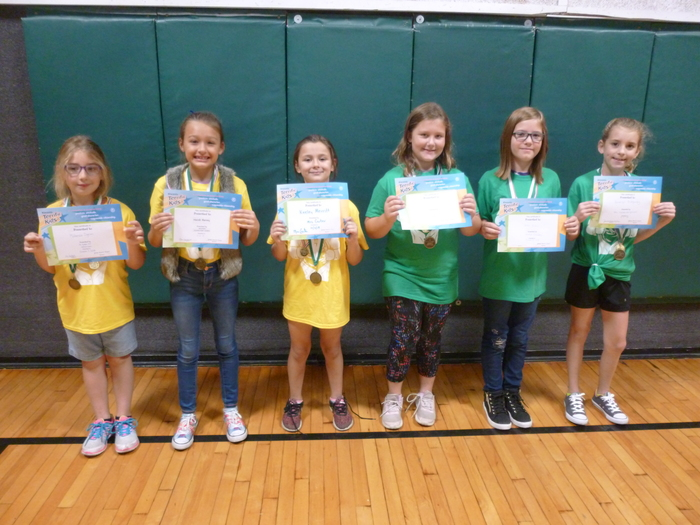 2nd/3rd Grade Students of the Month