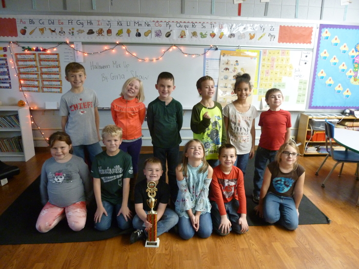 2A October Reading Counts Trophy