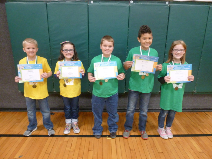 2nd/3rd Grade November Students of the Month
