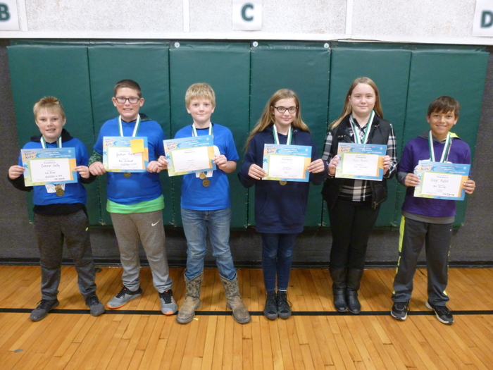 4th/5th Grade November Students of the Month