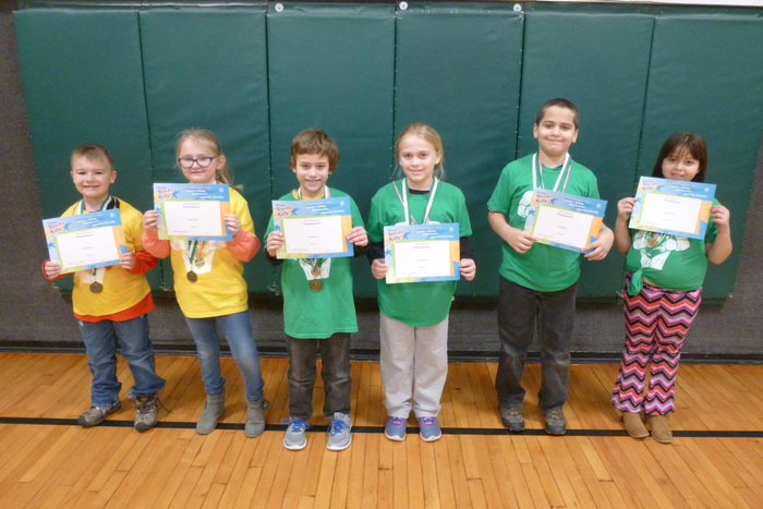 2nd and 3rd Grade January Students of the Month
