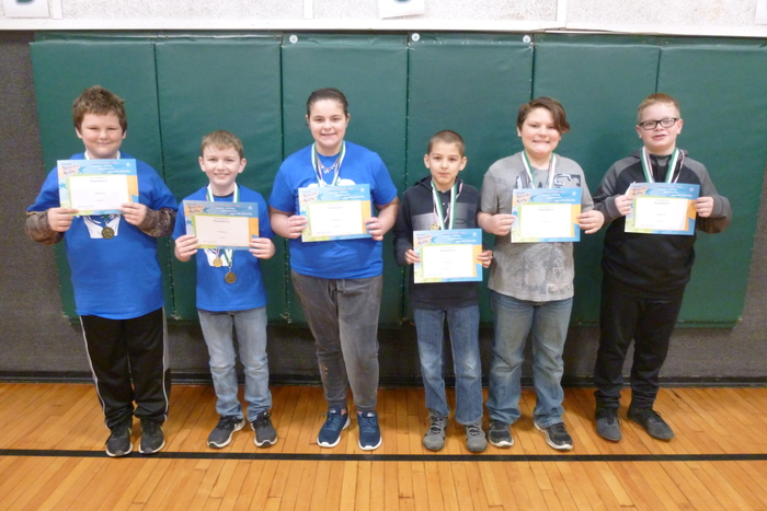 4th and 5th Grade January Students of the Month