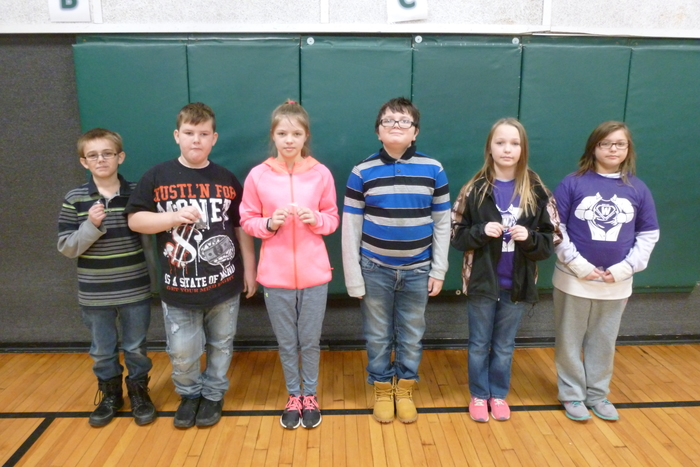 2nd Quarter 5th Grade Hornet Achievers