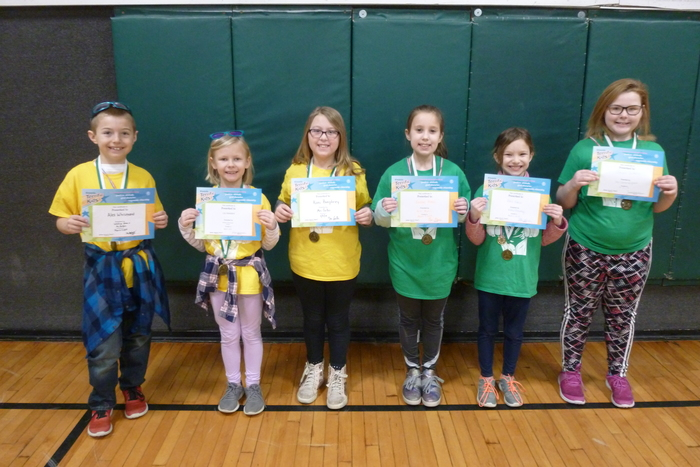 2nd and 3rd Grade March Students of the Month