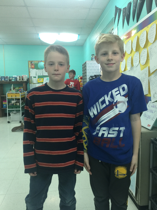 4th Grade Renick Spelling Bee Contestants