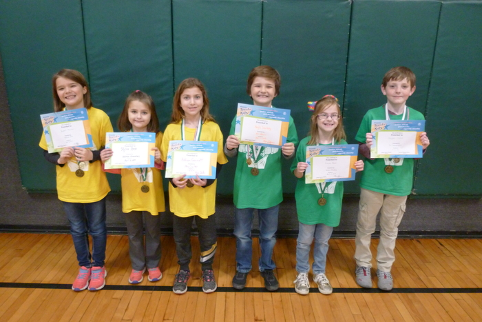 2nd and 3rd Grade Students of the Month