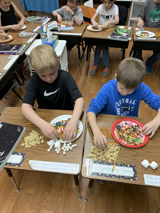 Kids sorting mixtures