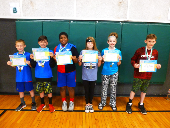 4th and 5th Grade Students of the Month