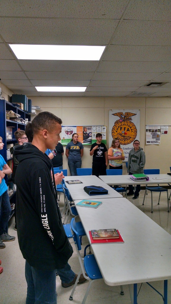 Westran FFA members get to know each other