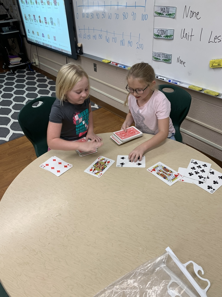 Adding up math cards
