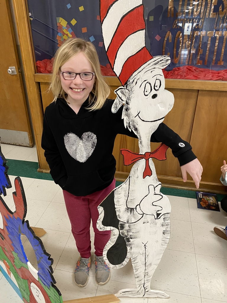 Hanging out with Cat in the Hat