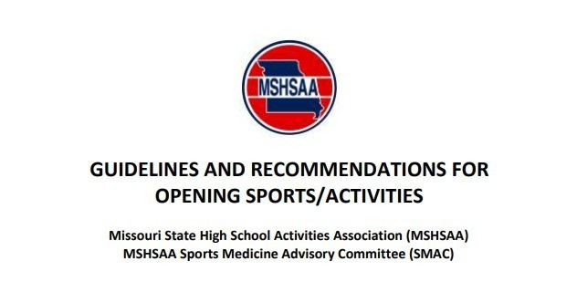 MSHSAA Fall Guidelines (7/15/20)