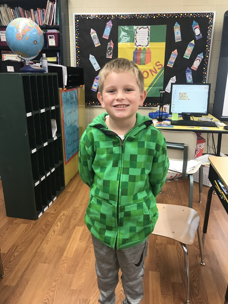 Congrats to Griffin for having the most Dojo points for 2C!